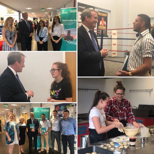 SoS visit to Doncaster 23rd July 2018